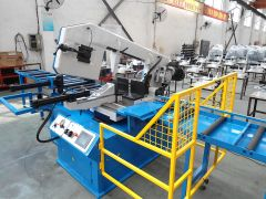 """GMC 18"""" Automatic Horizontal Band Saw with NC Programmable Control - BS-18A"""