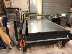 Used Plasma CNC Cutting Table 5 X 10