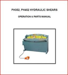 PEXTO PH352, PH452 HYDRAULIC SHEARS