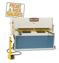 Baileigh Heavy Duty Hydraulic Sheet Metal Shear SH-5210-HD