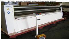 GMC 10 x 10 Ga. powered bending roll up/down w/ push button & display PBR-1010E