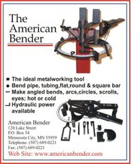 American Bender Parts and operation Booklet