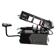 JET 891080 EHB-1018VMH 10 x 18 Semi-Auto Variable Speed Dual Mitering Saw with Hydraulic Vise