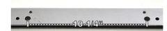 12613W Wilder Wide T-Handle Backgauge Bar for Models 1624/1424 - Old Style Backgauge