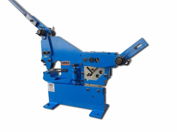 Baileigh Manual Iron Worker With Punch Sw 22m P New And
