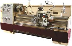 """GMC Heavy Duty Precision Gap Bed Lathe with 4-1/8"""" Spindle Bore - GT-2080"""