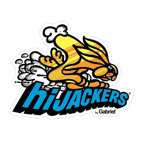 Gabriel Hijackers Vintage Drag Racing sticker decal   Decals and Parts LLC  - HOME