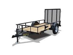 35SA Single Axle Utility Trailer(35SA-10BK4RG)