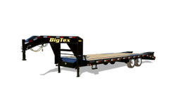 14GN Single Wheel Tandem Axle Gooseneck Trailer(14GN-25BK+5MR)