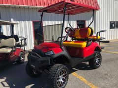 Used GAS Yamaha Golf Cart - KC Chiefs