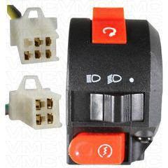 Handlebar Starter Switch- 9 Wire