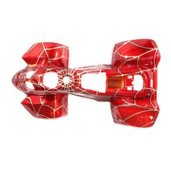 Chinese ATV Body Fender Kit - 1 piece - Red Spider