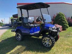 Used Yamaha Golf Cart - Blue