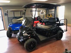Used Electric Yamaha Golf Cart - Black Out Edition