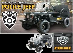125cc Police Jeep IceBear