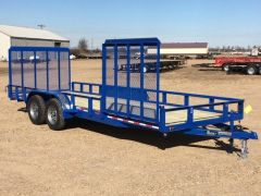 20' Wrap Utility 7000lb w/ Side Gate