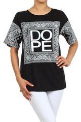 Bandanna Style DOPE Fashion T-shirt