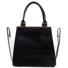 Gold Studded See Thru 2 in 1 Handbag