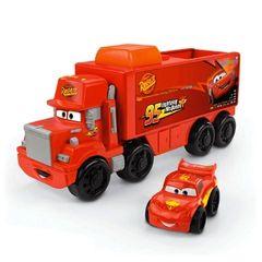 Fisher-Price Little People Wheelies Disney/Pixar Cars Mack Haule
