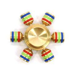 Helm Gold Metal Fidget Spinner