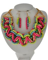 Multi Strand Necklace Set