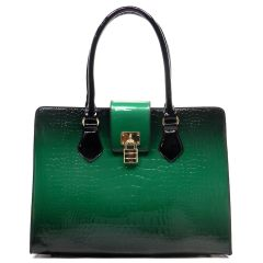 Croc Gradient Satchel