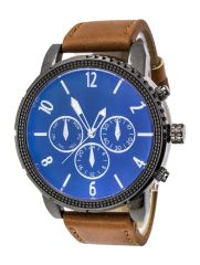 Large Face Unisex Chrono Watch