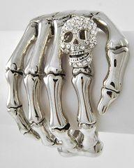 Rhinestone Skeleton