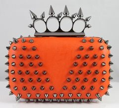 Mini Spikey Clutch