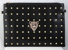 Studded Tiger Clutch