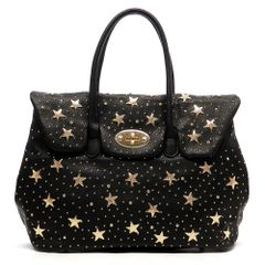 Star Studded Twist Lock Tote