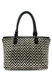 Black & Gold Metallic Handbag