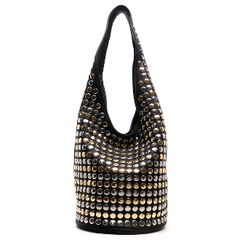 Bling Studded Hobo Bag