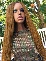 Hand Braided Micro Twist Wig Color 27, 30 Inches