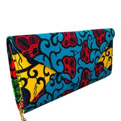 Ankara Print Fashion Clutch