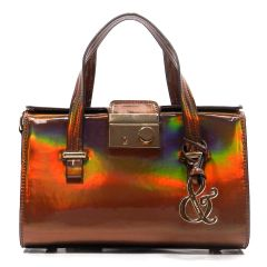 Hologram Mini Box Satchel Purse