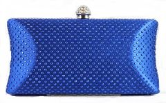Sparkling Blue Evening Bag