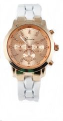 Fashion Chrono Metal Watch
