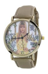 Magazine Print Fashion Watch