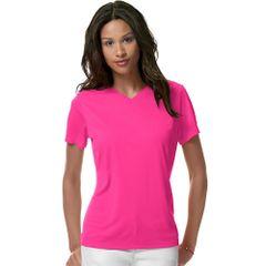 Hanes Women's Cool DRI & V-Neck T-Shirt