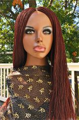 Micro Twist Braided Wig Color 35, 24-26 Inches