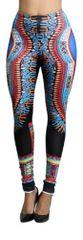 Colorful Tribal Printed Scuba Pants