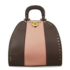 Studded Deco Pink Handbag