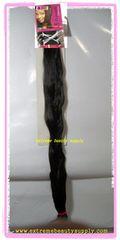 40 inch bijoux x-pression or super X braid 40 inch long special premium 100% kanekalon braid hair When unfold it about 80 inch long