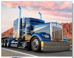 Kenworth Peterbilt mack International Freightliner western star American custom big long TRUCK trucking 2017 Wall Calendar