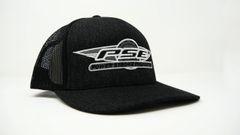 FlexFit Trucker Hat Black