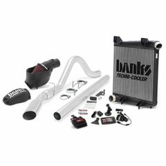 Banks 6.4 Big Hoss Bundle, Complete Power System with Single Exhaust, Chrome OR Black Tip for use with 2008-2010 Ford 6.4L, All W/B Wheelbases