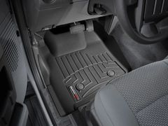 WeatherTech Front FloorLiner F250/F350/F450/F550 2011-2016 with Flow Through Center Console