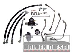 6.0 2003-2007 Driven Diesel Regulated Return Fuel System Kit