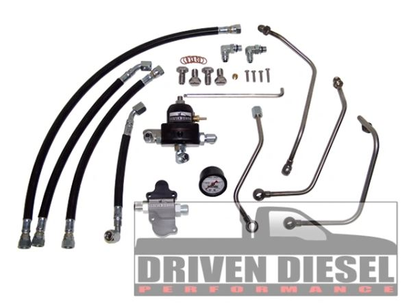6 0 2003-2007 driven diesel regulated return fuel system kit | powerstroke  enginuities